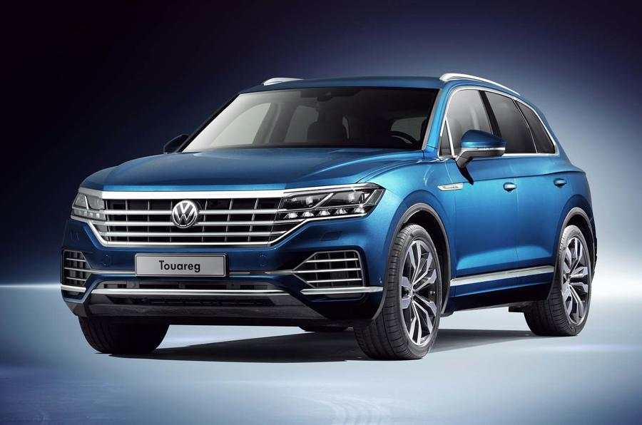 new volkswagen touareg on sale in britain from 51 595 autocar. Black Bedroom Furniture Sets. Home Design Ideas