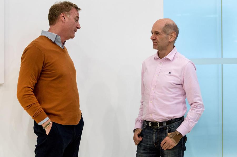 Adrian Newey and Marek Reichman interview Autocar