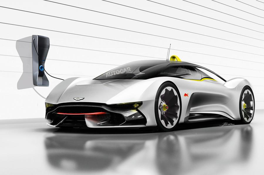 Aston Martin Red Bull hypercar rendering