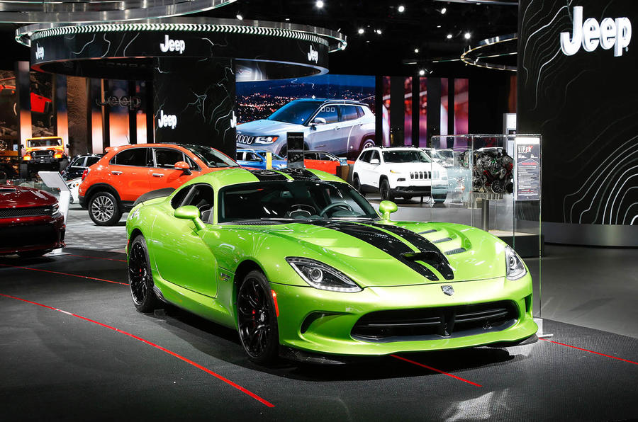 2017 Detroit motor show
