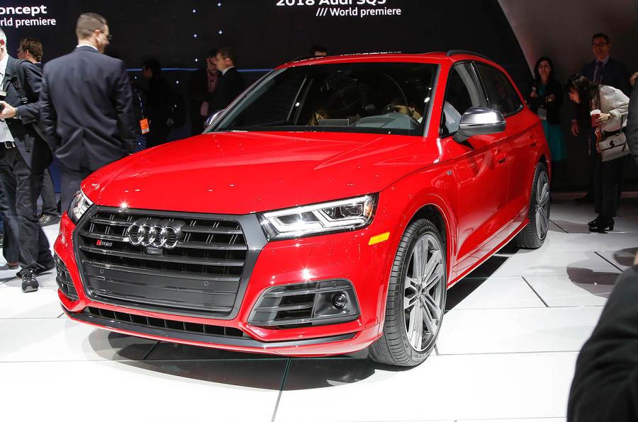 Audi SQ5 Detroit motor show