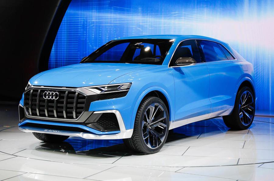 Striking Audi Q8 concept previews 2018 flagship model