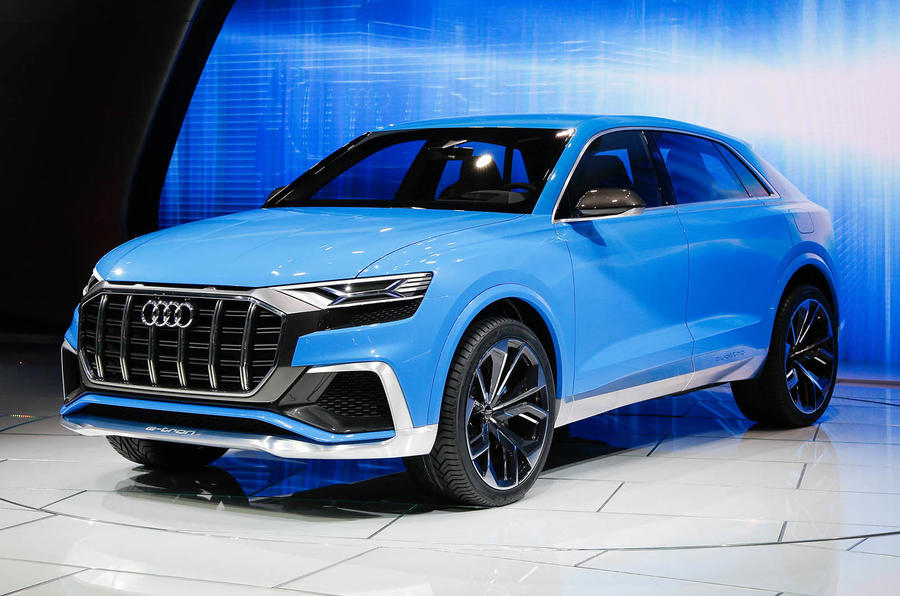 striking audi q8 concept previews 2018 flagship model. Black Bedroom Furniture Sets. Home Design Ideas
