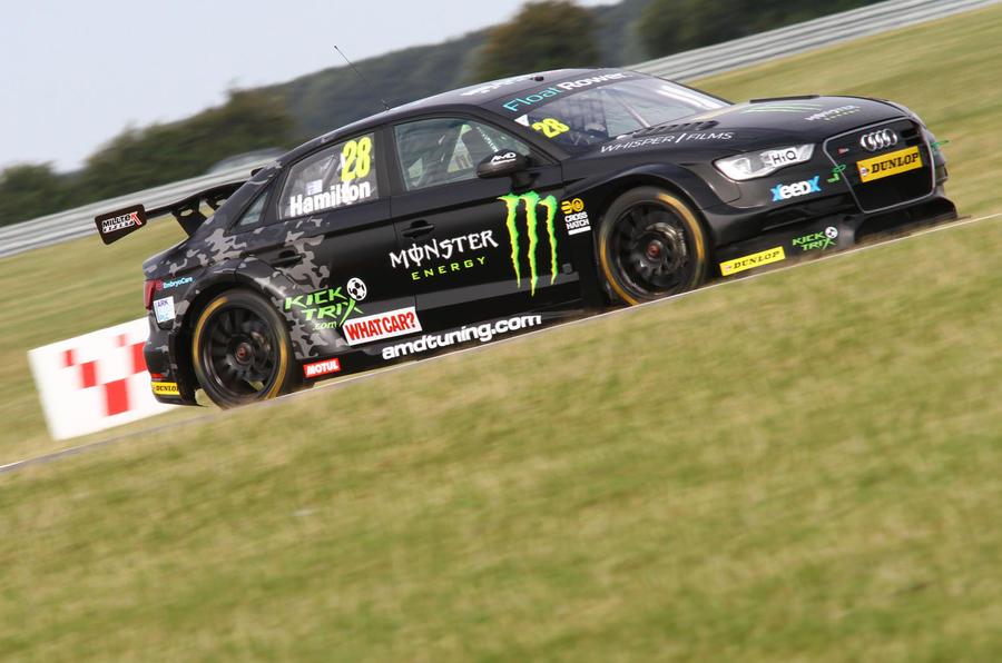 Nic Hamilton Race Car Driver