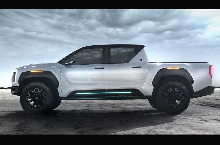 2021 Nikola Badger pick-up