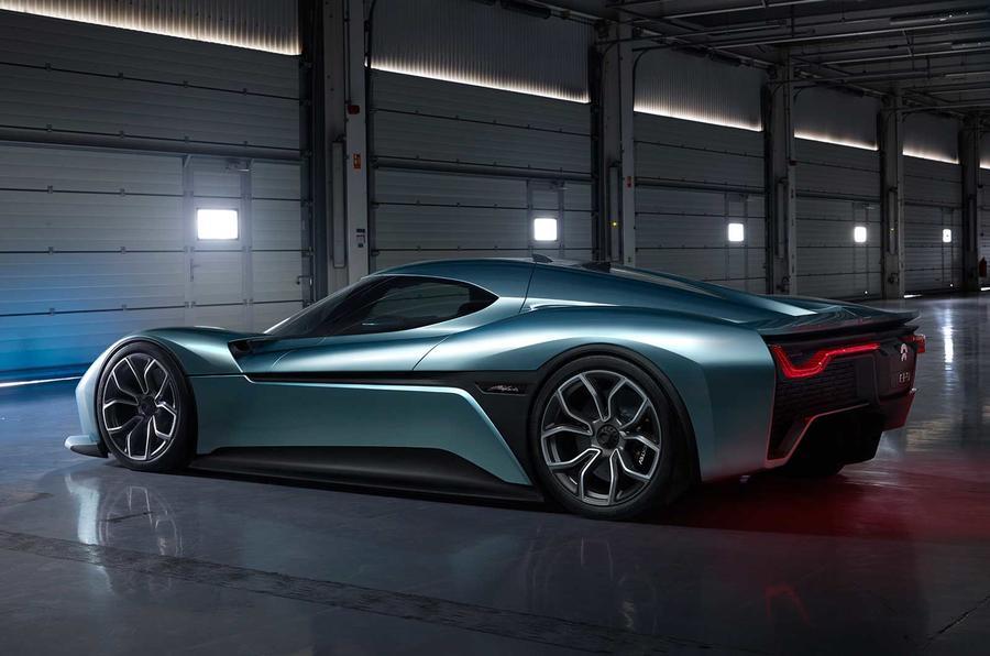 NextEV unveils 1360bhp Nio EP9 electric supercar