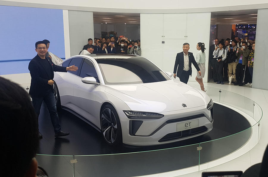 Nio Et Preview Hints At 2021 Electric Saloon Autocar