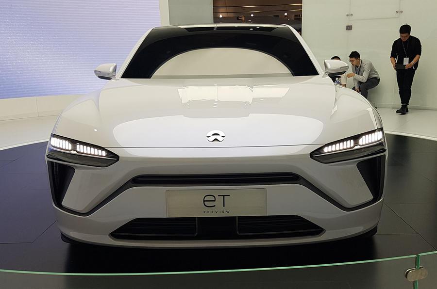 Nio ET preview - Shanghai Motor Show 2019 - nose