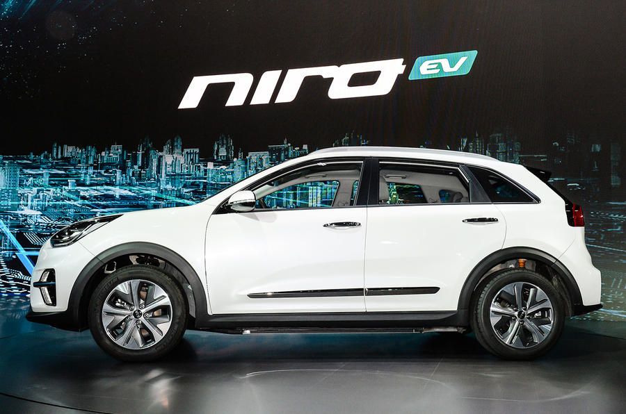 new kia niro ev crossover unveiled in korea autocar. Black Bedroom Furniture Sets. Home Design Ideas