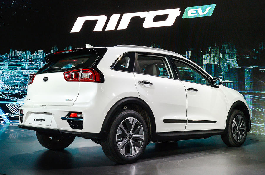 New Kia Niro EV crossover unveiled in Korea