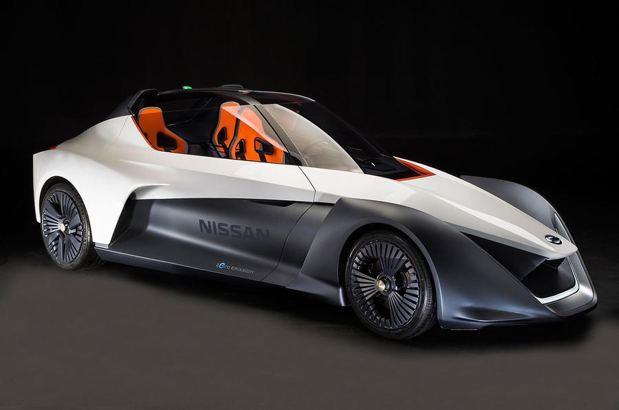 Attractive Nissan BladeGlider Concept