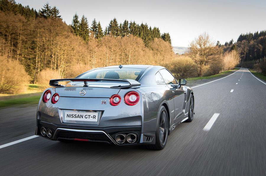 Nissan GT-R Prestige rear