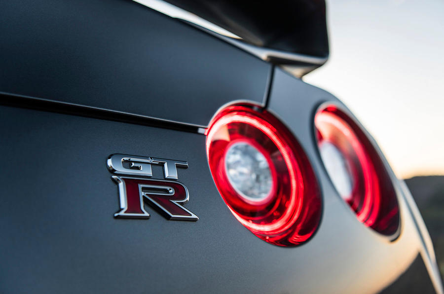 Nissan GT-R Prestige badge