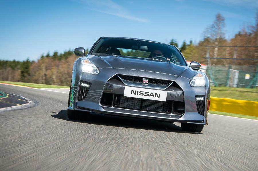 Nissan GT-R Prestige cornering
