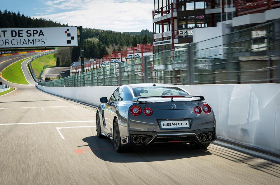 Nissan GT-R Prestige rear end
