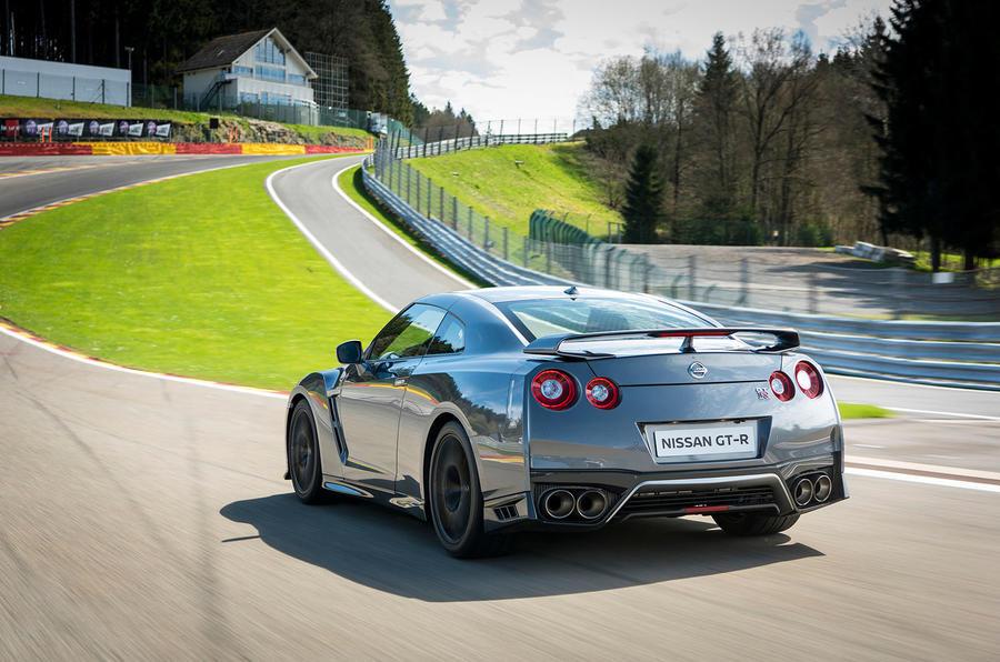 Nissan GT-R Prestige rear quarter