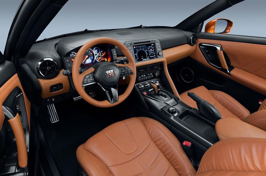 2017 Nissan GT-R interior
