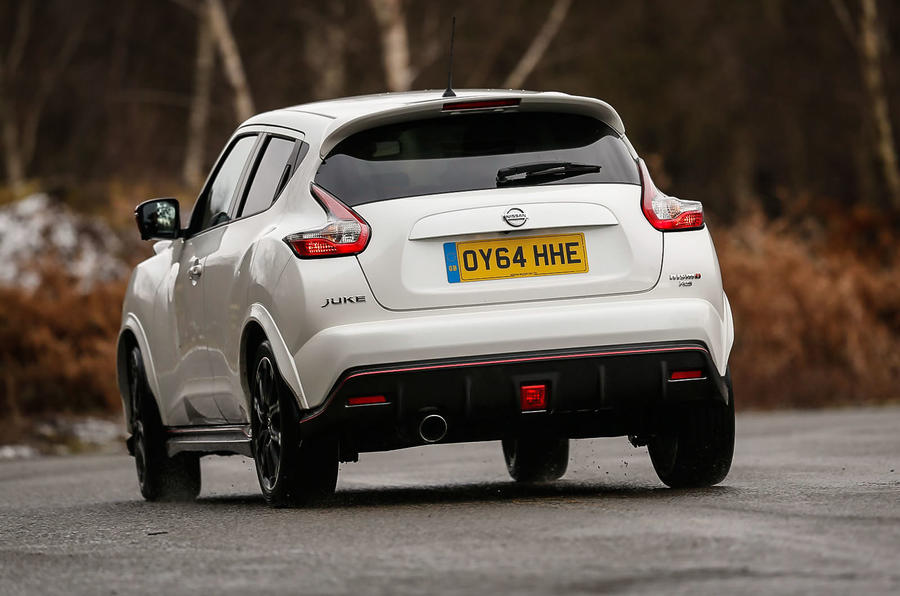 Nissan Juke Nismo RS rear