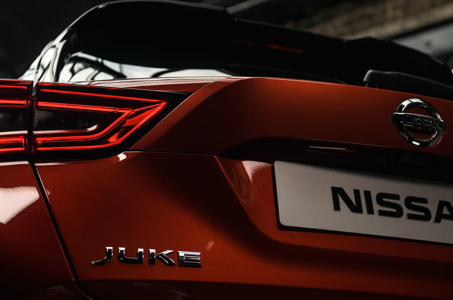 2020 Nissan Juke - static rear detail