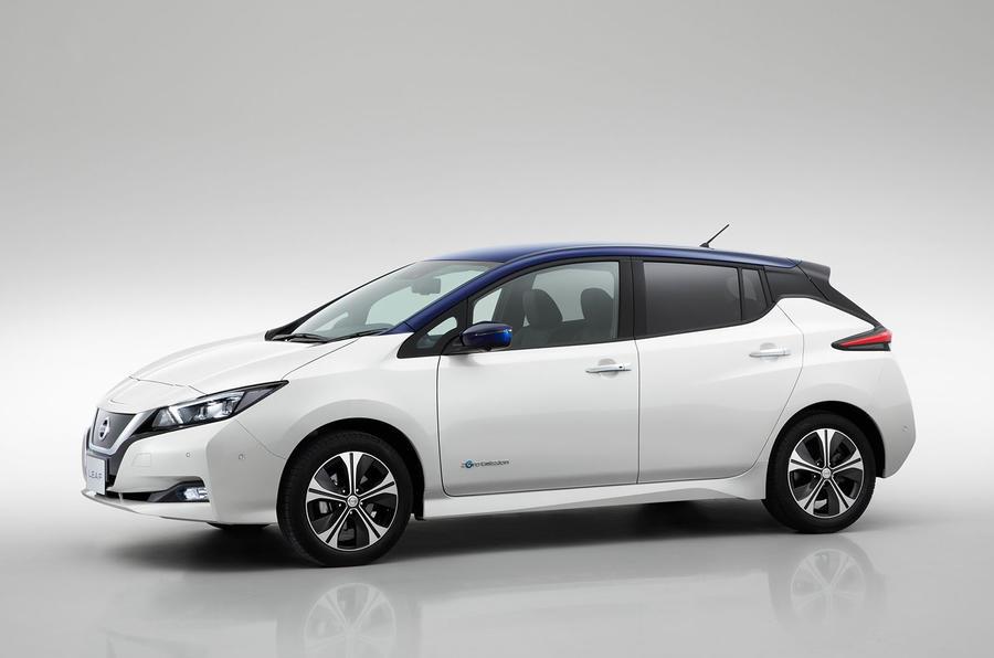 2018 Nissan Leaf side