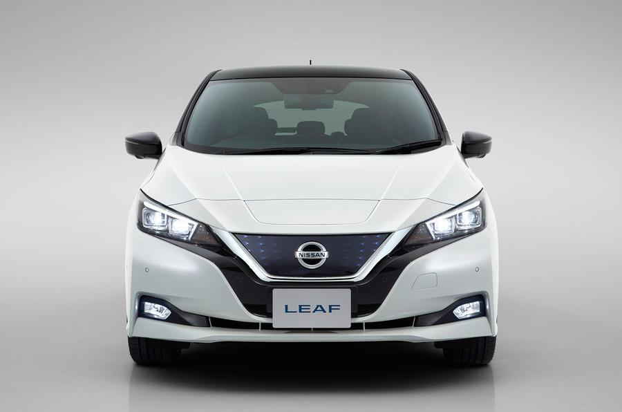 2018 Nissan Leaf front
