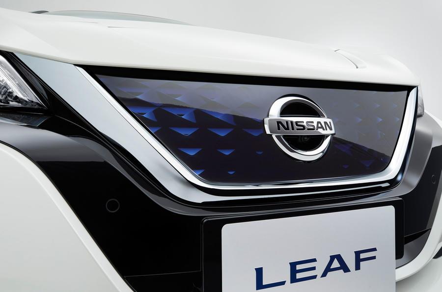Nissan Leaf front grille
