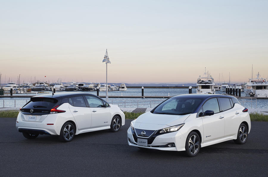 4 star Nissan Leaf 2018
