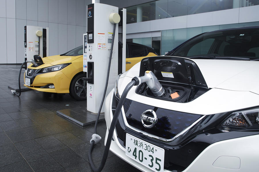 ... Nissan Leaf 2018 Charging Up ...