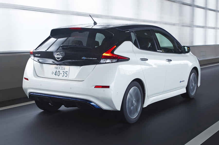 Nissan Leaf 2018 rear