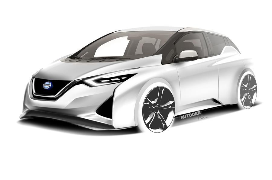 next nissan leaf aims for 340 mile range autocar