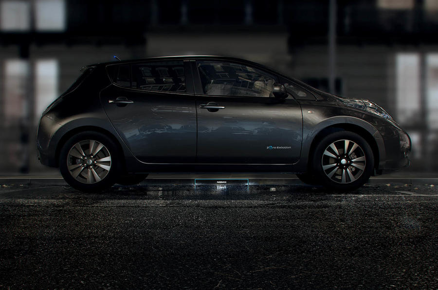 Nissan to unveil new wireless charging system at Geneva ...