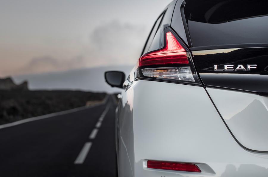 Nissan Leaf rear light