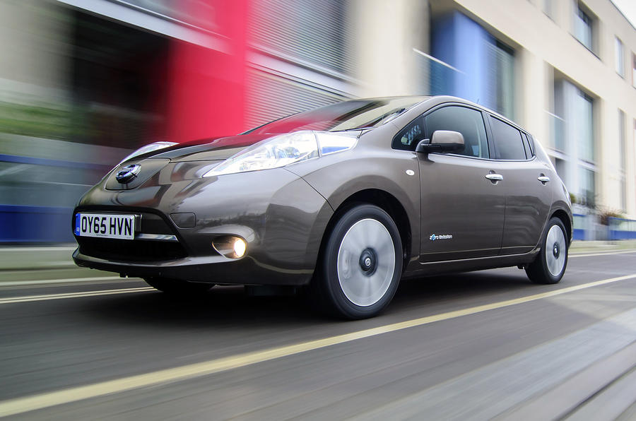 Nissan Leaf does 0-62mph in 11.5 seconds