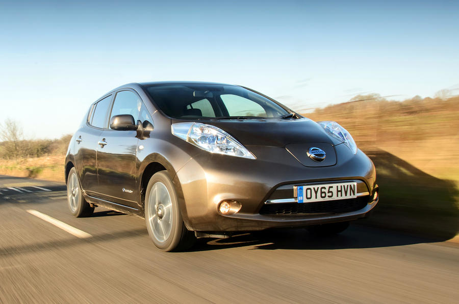2016 nissan leaf 30kwh review review autocar. Black Bedroom Furniture Sets. Home Design Ideas