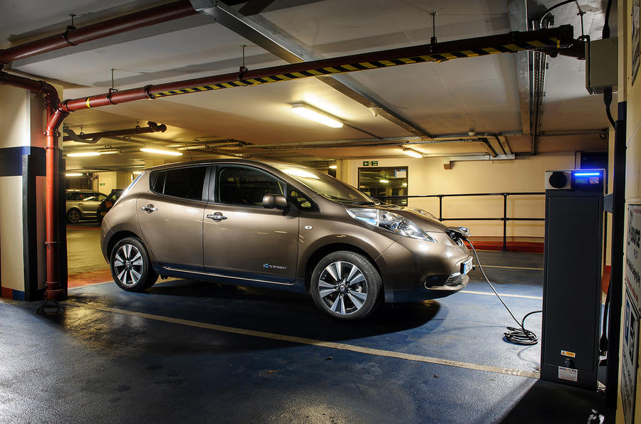 ... Charging The Nissan Leaf ...