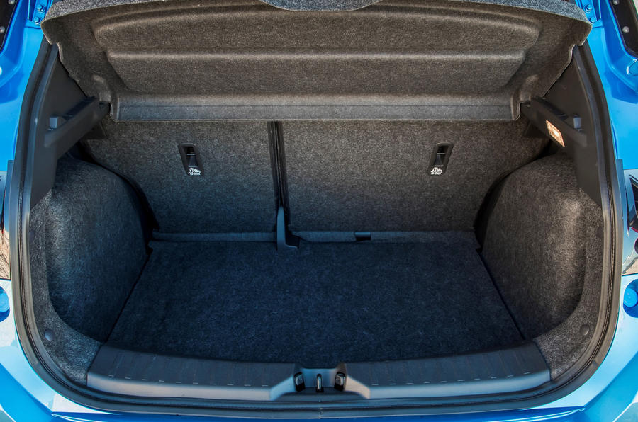 Nissan Micra 1.0 boot space