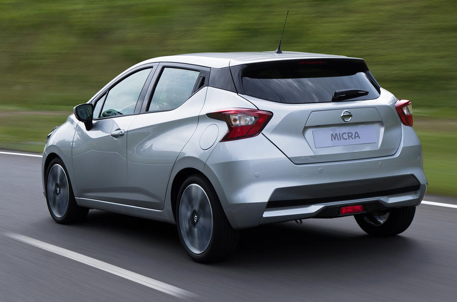 2017 Nissan Micra prototype