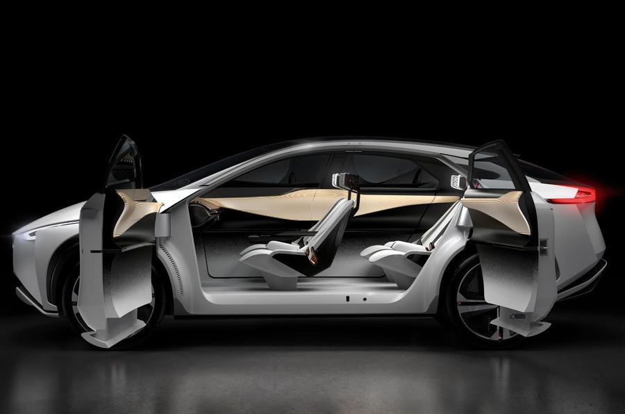 Nissan Imx Concept Signals 2019 Leaf Suv Autocar