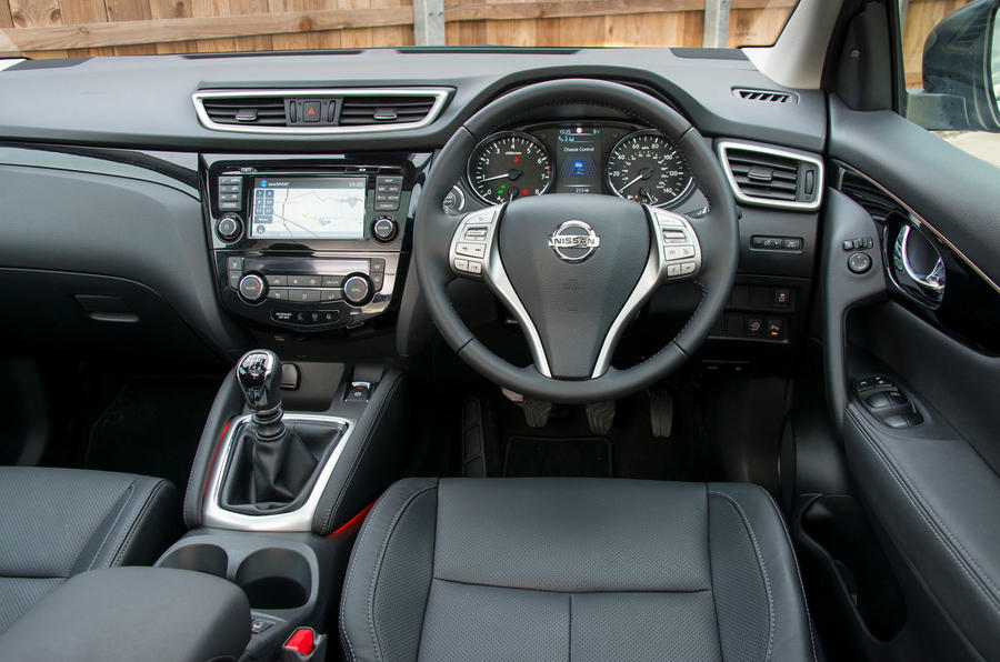 2015 Nissan Qashqai 1.6 DIG-T 163 N-tec review review ...