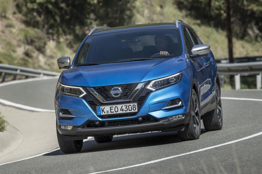 Nissan Qashqai 2018 front image