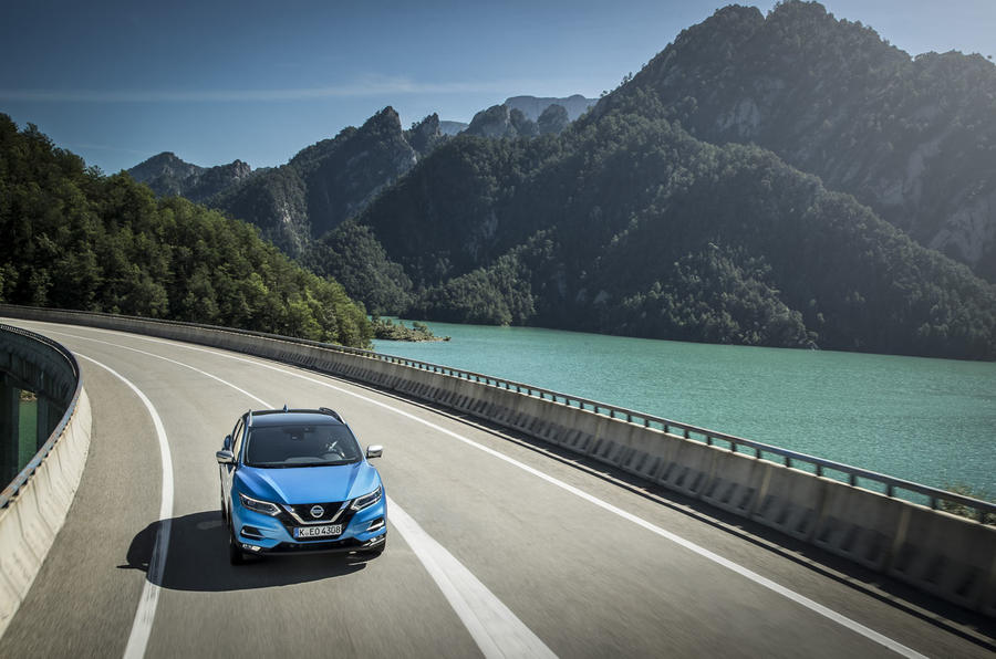 Nissan Qashqai 2018 motion image