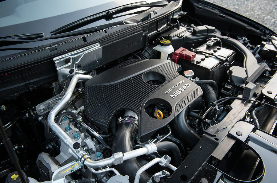 1.6-litre Nissan X-Trail petrol engine