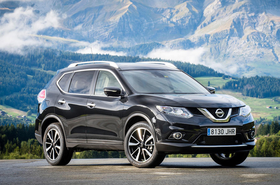 3 star Nissan X-Trail Tekna