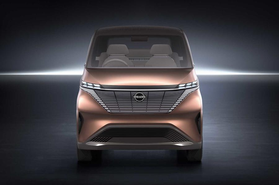 Nissan IMk concept front