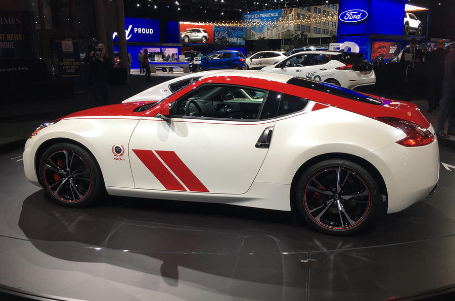 Nissan 370Z 50th Anniversary edition - New York Motor Show 2019 - side
