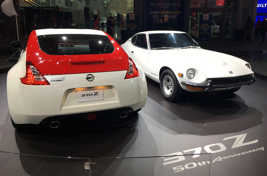 Nissan 370Z 50th Anniversary edition - New York Motor Show 2019 - rear