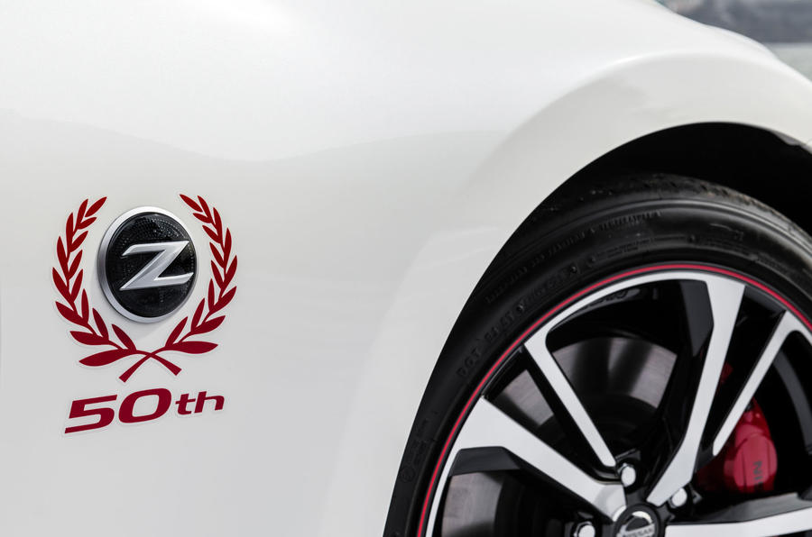 Special Edition Nissan 370z Celebrates 50 Years Of Z Cars