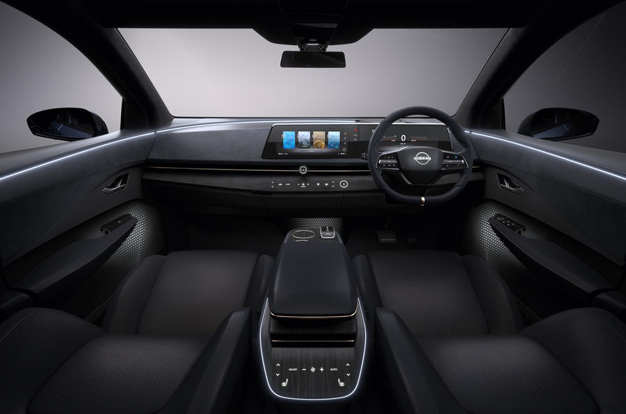 Nissan Ariya dash