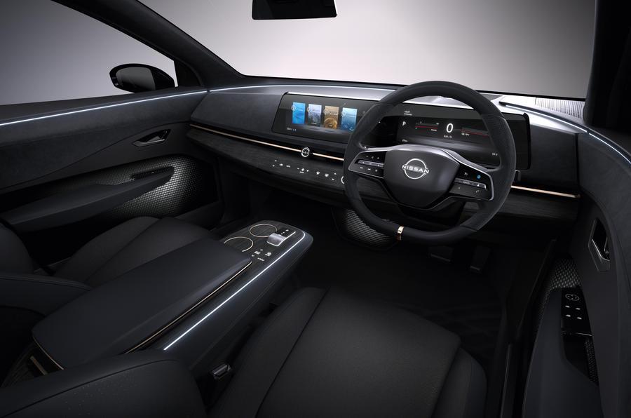 Nissan Ariya cabin