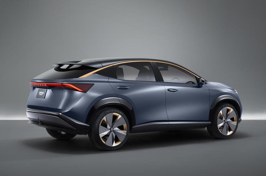 Nissan Ariya concept previews crossover EV   Autocar
